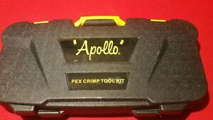 Apollo Pex Multi head Crimp Tool Kit 3 8 1 2 3 4 1 Instructions Manual New