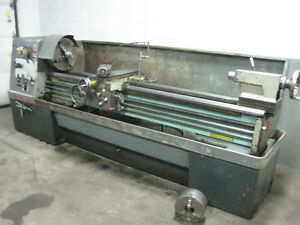Clausing Colchester 17 X 80 Geared Head Engine Lathe Non Gap Bed
