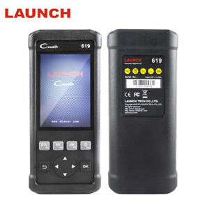 Launch 619 Abs Srs Airbag Obd2 Diagnostic Scanner Code Reader Engine Scan Tool