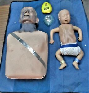 Laerdal Adult Anne And Infant Little Anne Manikin With Case Mannequin