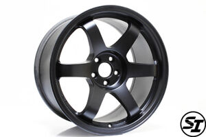 Rota Wheels Grid 17x9 35 5x100 Flat Black Fits Subaru Wrx 02 14 Scion Tc 05 10