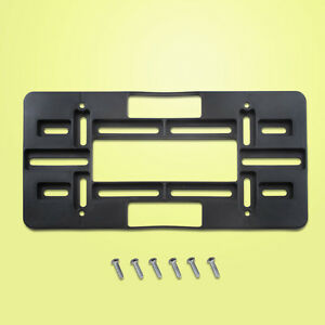 License Plate Bracket Tag Holder Mount Mounting Relocator Relocation Adapter Lan