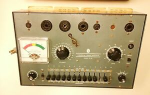Vintage Commercial Trades Tube Checker Tester Model Tc 20 With Original Charts