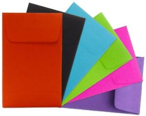 Jam Paper 1 2 1 4 X 3 1 2 Color Coin Envelope Assortment Pack 6 Assorted
