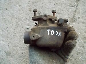 Farguson To20 To 20 Tractor Engine Motor Marvel Schebler Carburetor Assembly