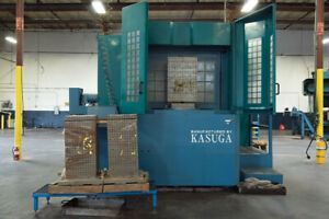 30 X 30 X 25 Travels Kasuga Quantum Cnc 4 Axis Horizontal Machining Center
