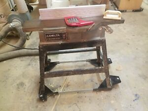 Delta 37 280 Jointer 6 Stand And Roller Base 110 Volt Single Phase