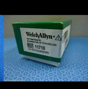 Welch Allyn 3 5v 11710 Standard Ophthalmoscope New