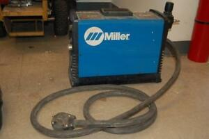 Miller Spectrum 875 Plasma Cutter With Torch Cable Clamp