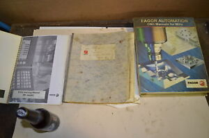 Lot Of 3 Fagor Manuals schematics And Troubleshooting Manuals Inv 26564