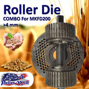Combo Roller Die For Pellet Mill Mkfd200 Usa Free Shipping