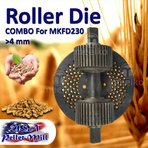 Combo Roller Die For Pellet Mill Mkfd230 Usa Free Shipping