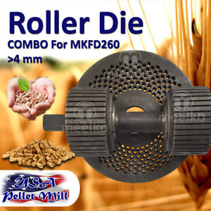 Combo Roller Die For Pellet Mill Mkfd260 Usa Free Shipping