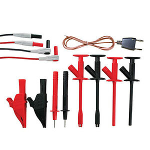 Extech Tl833 Tl 833 Industrial Test Lead Set