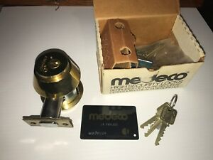Medeco Maxum High Security Double Deadbolt Cylinder Lock residential Commercial