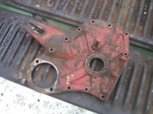 Farmall Cub Lb Lo Low Boy Tractor Ih Engine Front Panel Cover