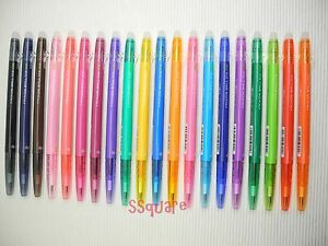 tracking No Pilot Frixion Ball Slim 0 38mm Rollerball Gel Pen 20 Colors Set