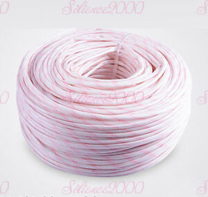 Wholesale One Roll Electrical Wire Silicon Fiberglass Insulation Sleeving Pipe