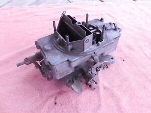 Ford Mercury 289 Autolite 4100 4v 4 Barrel Carburetor C5af aa