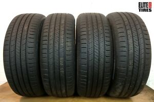 Set Of 4 Full Tread Hankook Kinergy Gt 225 60 r17 225 60 17 Tire Driven Once