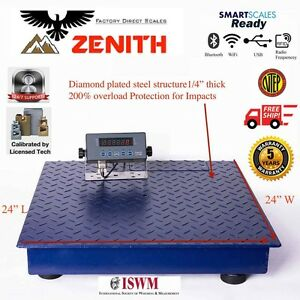 New Ntep 5000 Lb 1 Lb 2 x2 Heavy Duty Floor Scale Industrial Warehouse
