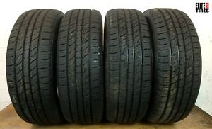 Set Of 4 Full Tread Kumho Crugen Premium 225 60 r17 225 60 17 Tire Driven Once