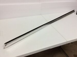 1972 1973 Ford Gran Torino Sport Elite 2dr Ht Top Lh Door Moulding Nice