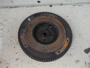 Allis Chalmers B Ib C Tractor Ac Good Engine Motor Flywheel W Starter Ring Gear