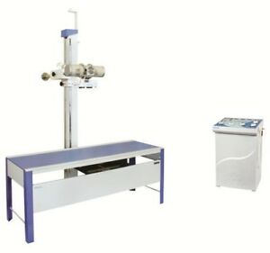300 Ma X ray Machine With Simple Horizontal Bucky Table
