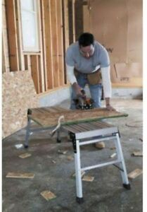 Pro Deck Aluminum Work Platform Foldable Material Handling Household Projects