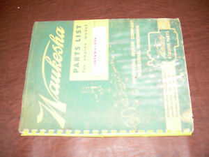 Waukesha Engine Parts List 135 Manual