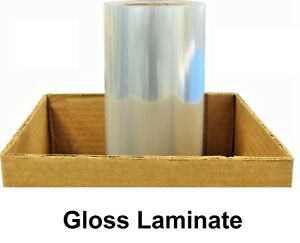 Any Purpose Clear Laminating Cold Gloss Laminate Film Vinyl Roll 38 X 150