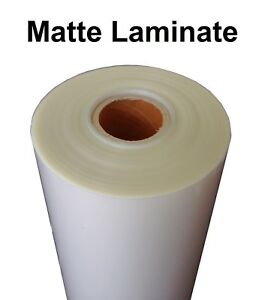 Any Purpose Clear Laminating Cold Matte Laminate Film Vinyl Roll 43 X 150