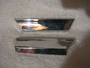 Nos Mopar 1962 Plymouth Door Belt Molding Ends