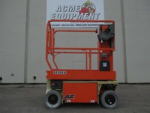 Brand New Jlg 1230es 12 Ft Electric Vertical Mast Lift Free Shipping