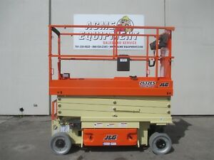 Brand New Jlg 2632es 26 Ft Electric Scissor Lift 2630 Free Shipping