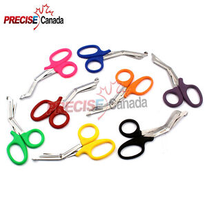 50 Pcs Emt Utility Scissor 5 5 7 25 Medical Paramedic First Aid Nurse Shears