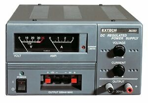 Extech 382203 Analog Triple Output Dc Power Supply