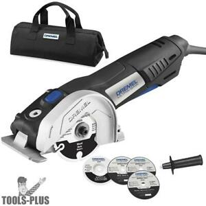 Dremel Us40 dr 7 5 Amp Motor 4 In Ultra saw Tool Kit Reconditioned