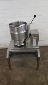 Groen Tdb 7 20 Steam Jacketed Manual Tilt Kettle 208v Tested