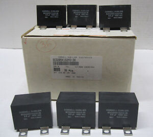 Lot 6 Cornell Dubilier Scd205k162a3 36 2 0uf 1600 Vdc Igbt Snubber Capacitor a5