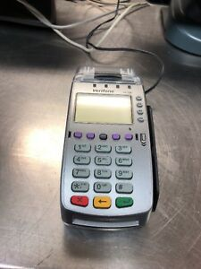Used Verifone Vx520 Credit Card Terminal ethernet Or Phone Chip Reader