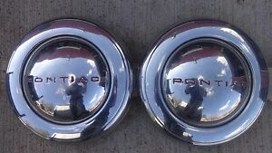 1940s 1950s Pontiac Wheel Covers Hub Caps Original Lyon Gm Accessory Deluxe Cap