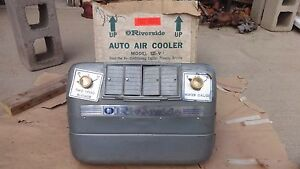 Nos Riverside Swamp Air Cooler Ford Dodge Plymouth Chevy Suburban Truck Deluxe