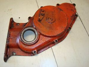 1966 Case 930 Diesel Tractor Front Engine Timing Cover
