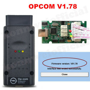 Opcom V1 78 Auto Obd2 Can Bus Diagnostic Scannner Interface For Opel Upgrade