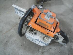 Stihl Ts760av Concrete Cut Off Saw For Parts Not Working