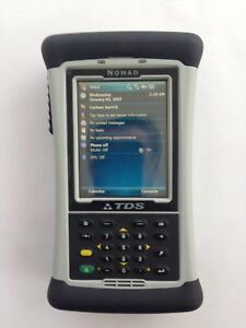 Trimble Nomad Dc Wm6 Wwan Wifi Bt With Survey Pro And Carlson Survce