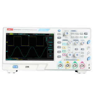 Uni t Upo2102cs Ultra Phosphor Oscilloscopes 2ch 100mhz Scopemeter 7 Inches Lcd