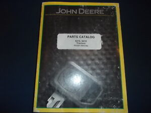John Deere 6215 6415 Tractor Parts Manual Book Catalog Pc4367